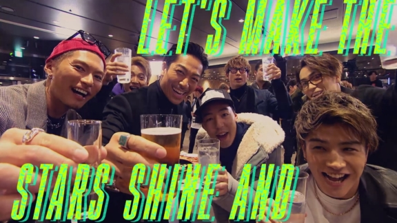 EXILE「PARTY ALL NIGHT ~STAR OF WISH~」Lyric Video(編集)