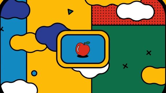 りんご事変YouTubeチャンネル「りんご事変の公共施設」オープニング(モーショングラフィックス)